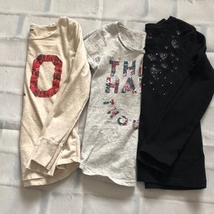 Other - 🛍3/$20🛍 Girls size 6 shirt lot